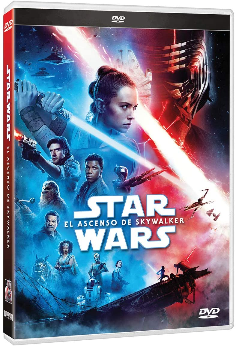 Star Wars Episodio 9 El Ascenso de Skywalker Pelicula DVD