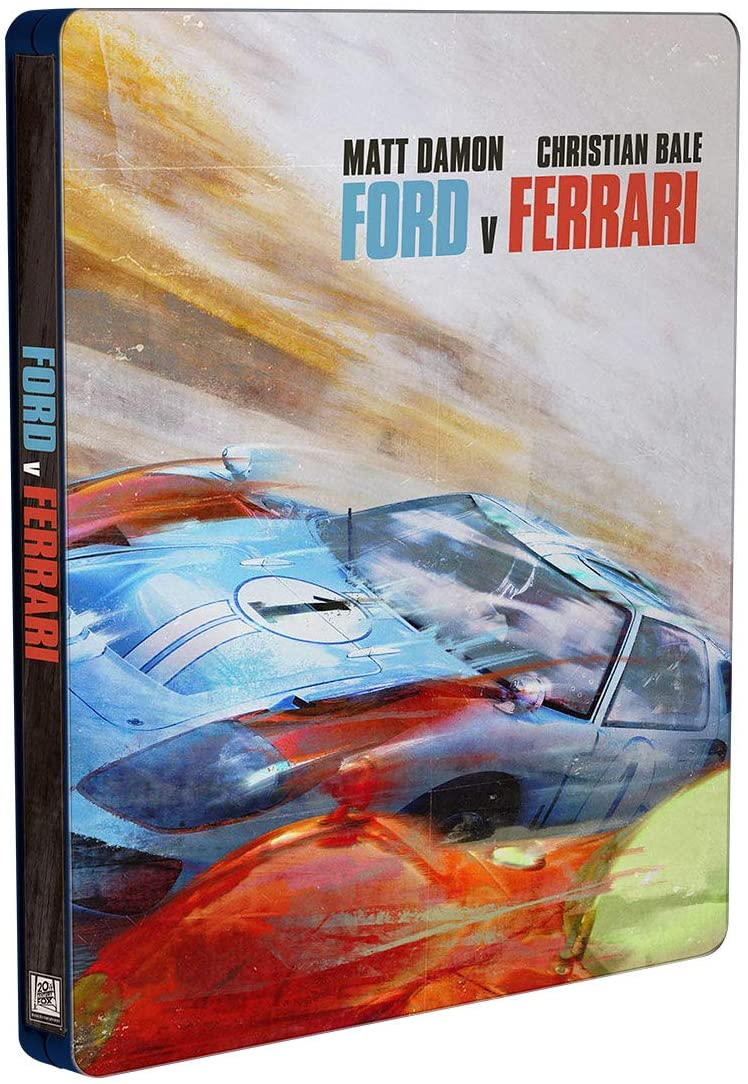 Ford Vs Ferrari Contra Lo Imposible Steelbook Blu-ray + DVD