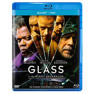Glass Blu-ray + DVD