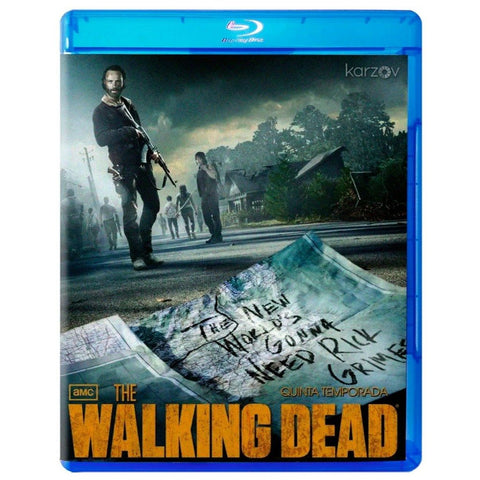 The Walking Dead Temporada 5 Blu-ray