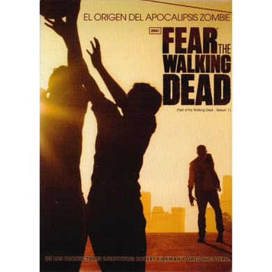 Fear The Walking Dead Temporada 1 DVD