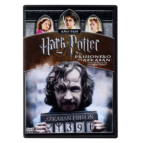 Harry Potter Y El Prisionero De Azkaban Año 3   DVD