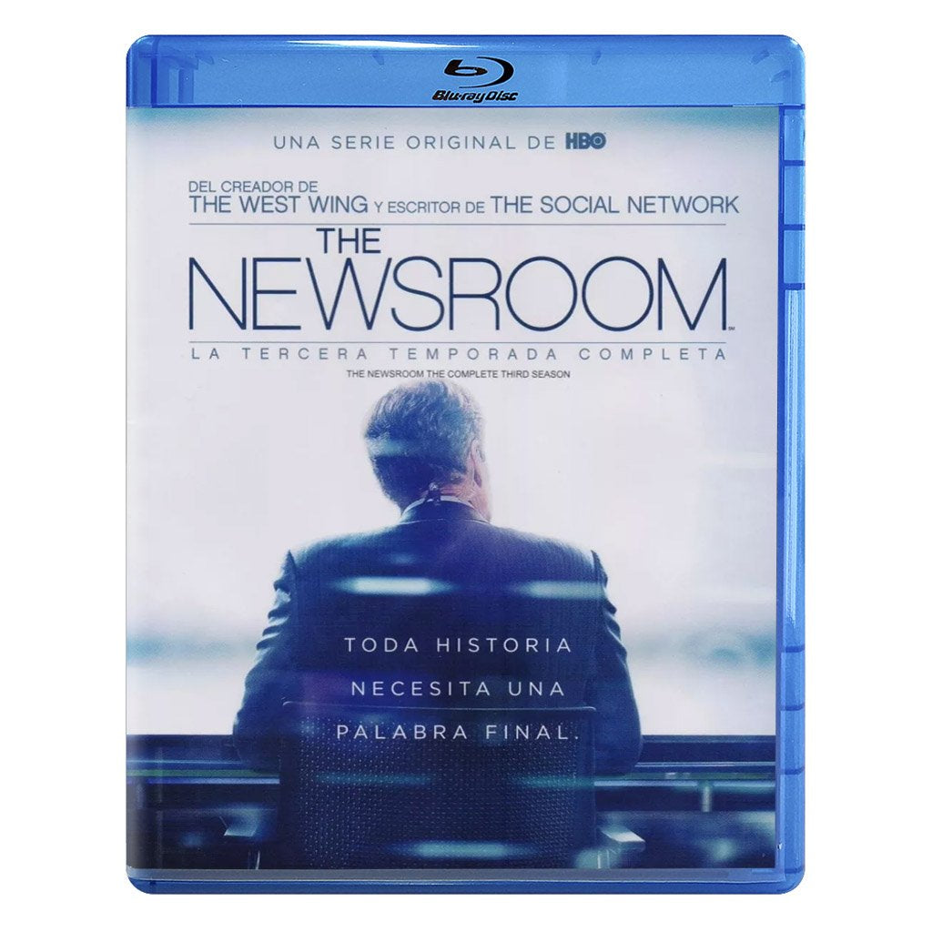 The Newsroom Temporada 3 Blu-ray