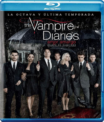 The Vampire Diaries Temporada 8 Blu-ray