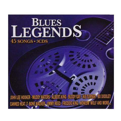 Blues Legends - Varios - 3 CD