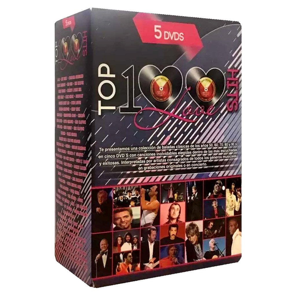 Top 100 Love Hits Coleccion DVD