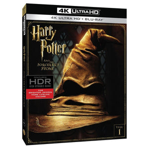 Harry Potter Y La Piedra Filosofal 4K Ultra HD + Blu-ray
