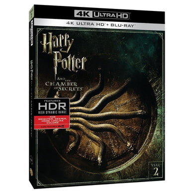 Harry Potter Y La Cámara Secreta 4K Ultra HD + Blu-ray