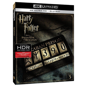 Harry Potter Y El Prisionero de Azkaban 4K Ultra HD + Blu-ray