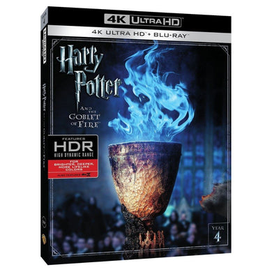 Harry Potter Y El Cáliz De Fuego 4K Ultra HD + Blu-ray