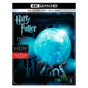 Harry Potter y La Ord Del Fénix 4K UHD + Blu-ray