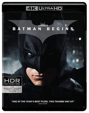 Batman Inicia 4K Ultra HD + Blu-ray