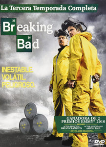 Breaking Bad Temporada 3  DVD