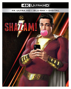 Shazam 4K Ultra HD + Blu-ray