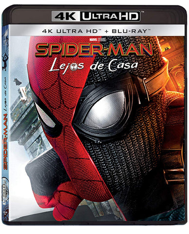 Spider-man Lejos de Casa 4K Ultra HD + Blu-ray