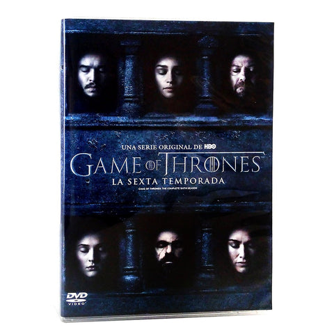Game Of Thrones Temporada 6 DVD