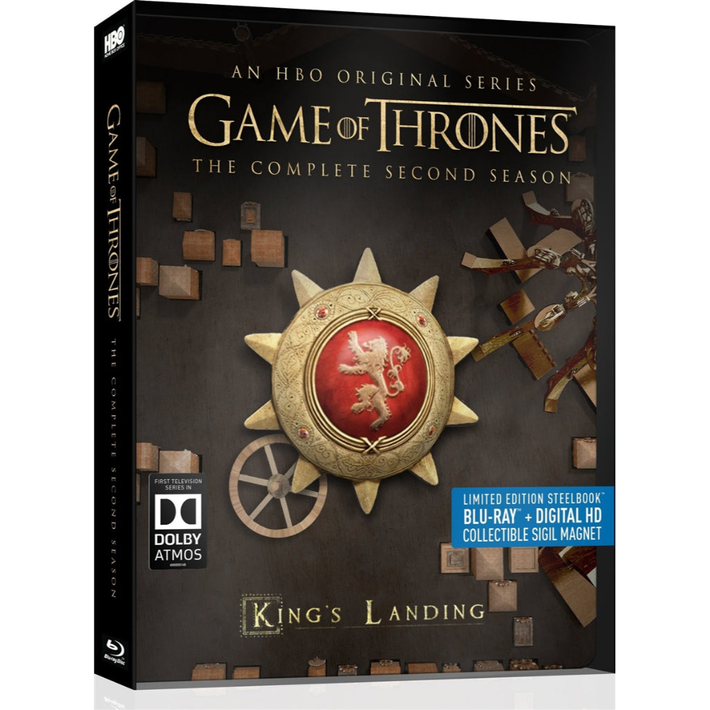 Game Of Thrones Temporada 2 Steelbook Blu-ray