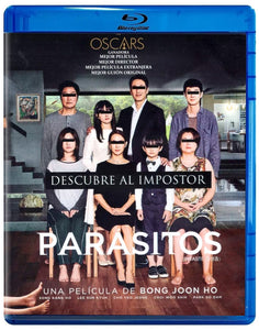 Parasitos Pelicula Blu-ray