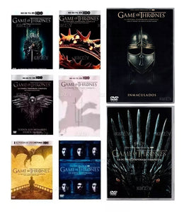 Game Of Thrones Serie Completa Temporada 1-8 DVD