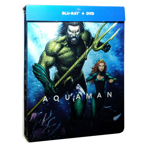 Aquaman SteelbooK Blu-ray + DVD