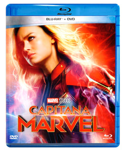 Capitana Marvel Blu-ray + DVD
