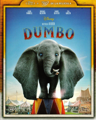 Dumbo (2019) Blu-ray + DVD