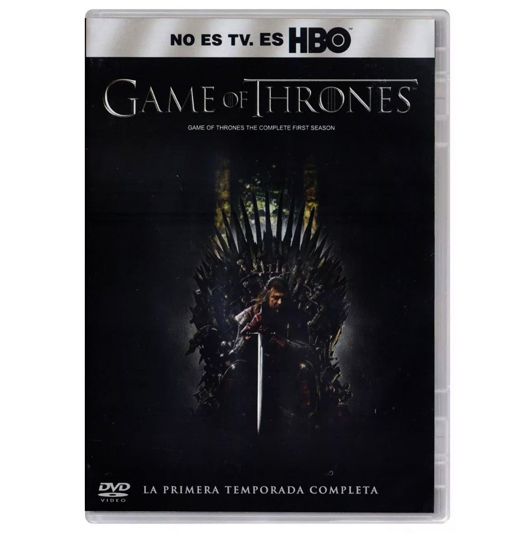 Game Of Thrones Temporada 1 DVD