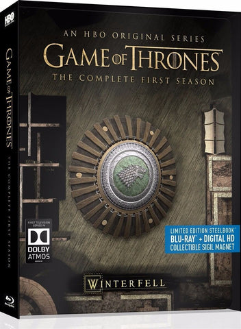 Game Of Thrones Temporada 1 Steelbook Blu-ray