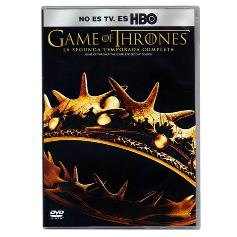 Game Of Thrones Temporada 2 DVD