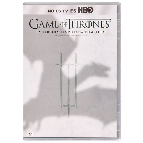 Game Of Thrones Temporada 3 DVD