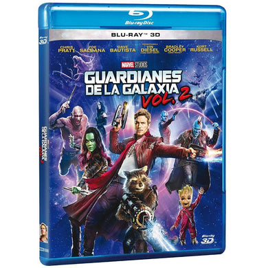 Guardianes De La Galaxia Vol. 2 Blu-ray 3D