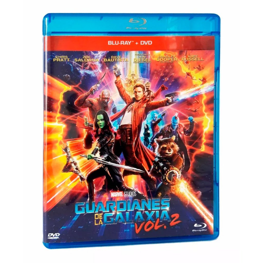 Guardianes De La Galaxia Vol. 2 Blu-ray + DVD