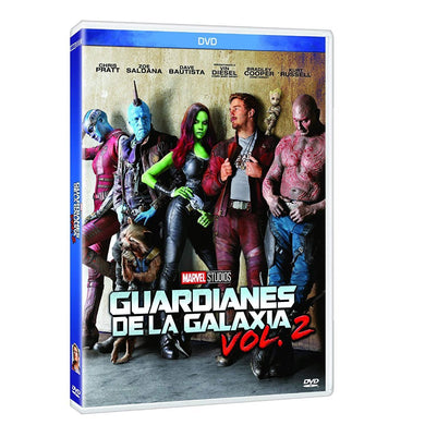 Guardianes De La Galaxia Vol. 2 DVD