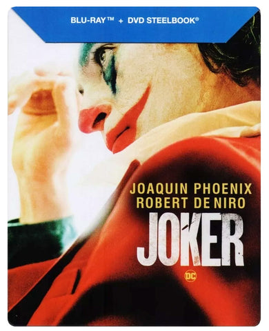 Joker ( Guason ) Steelbook Blu-ray + DVD