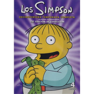 Los Simpson Temporada 13 DVD