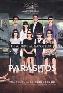 Parasitos Pelicula DVD