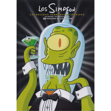 Los Simpson Temporada 14 DVD