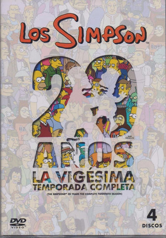 Los Simpson Temporada 20 DVD