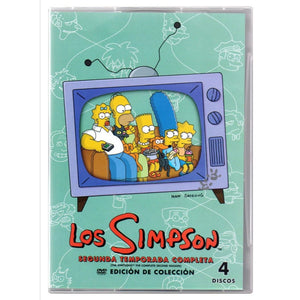 Los Simpson Temporada 2 DVD