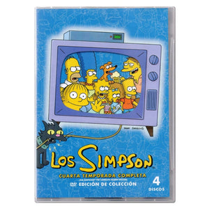 Los Simpson Temporada 4 DVD
