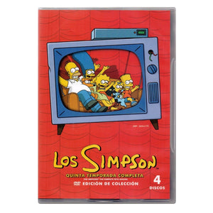 Los Simpson Temporada 5 DVD