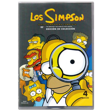 Los Simpson Temporada 6 DVD