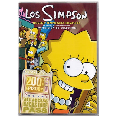 Los Simpson Temporada 9 DVD