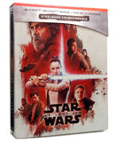 Star Wars Episodio 8 Los Últimos Jedi Steelbook Blu-ray + DVD