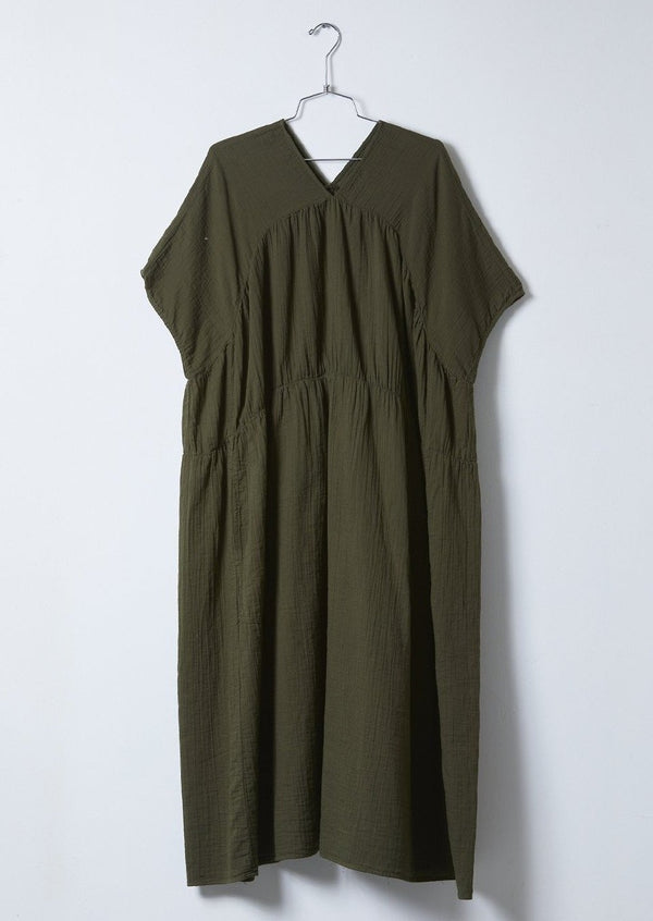 Lihue Dress, Hunter Green