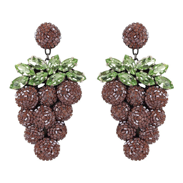 Grape Earrings