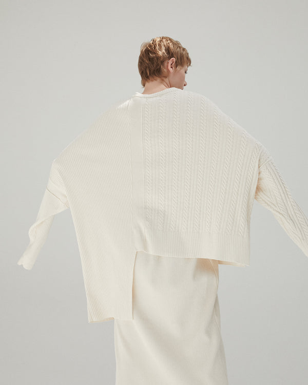 Asymmetrical Knit Jumper