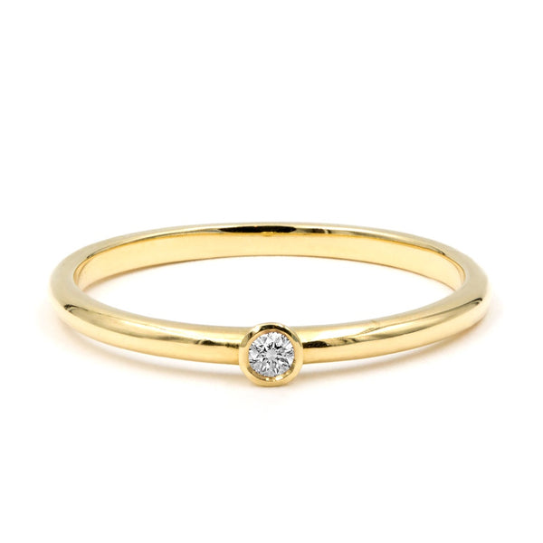 Micro Diamond Stack Ring