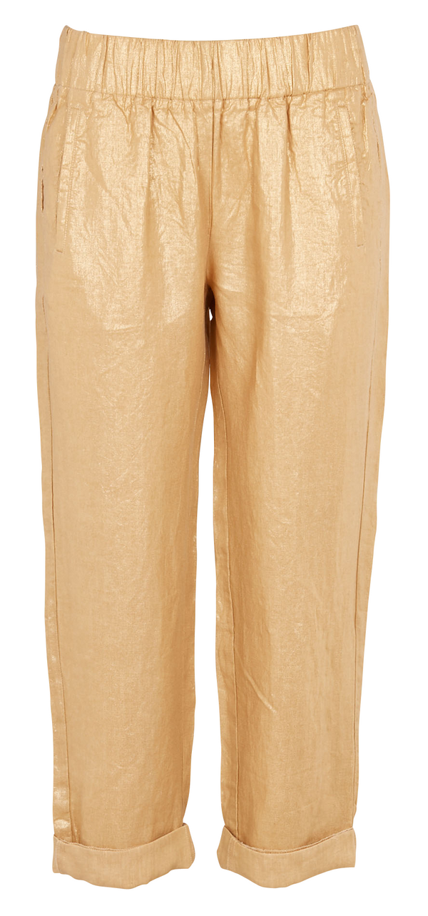 Diega Papao Gold Linen Pant