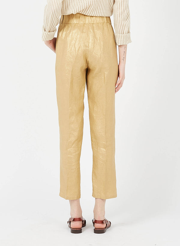 Papao Gold Linen Pant